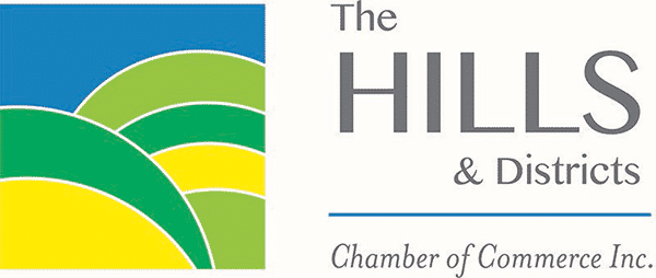The Hills & Districts Chamber of Commerce Inc. Logo