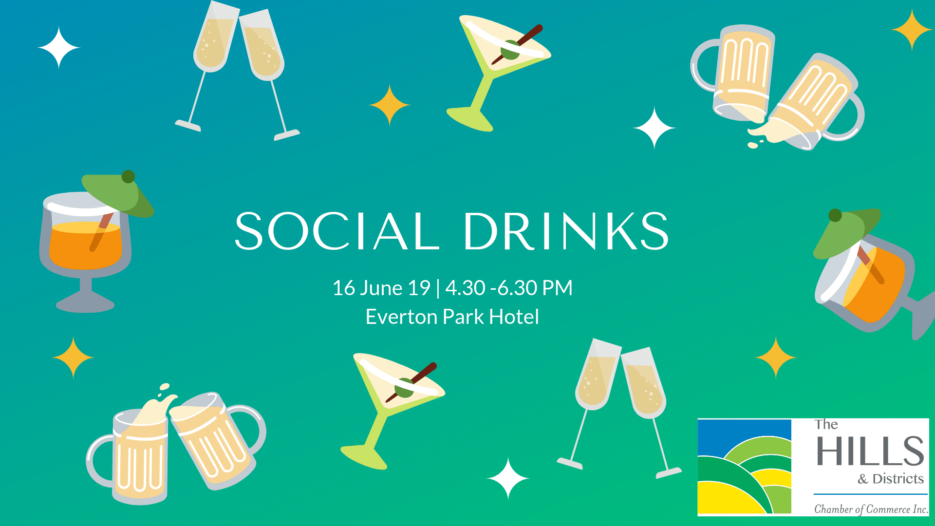 June Social Drinks