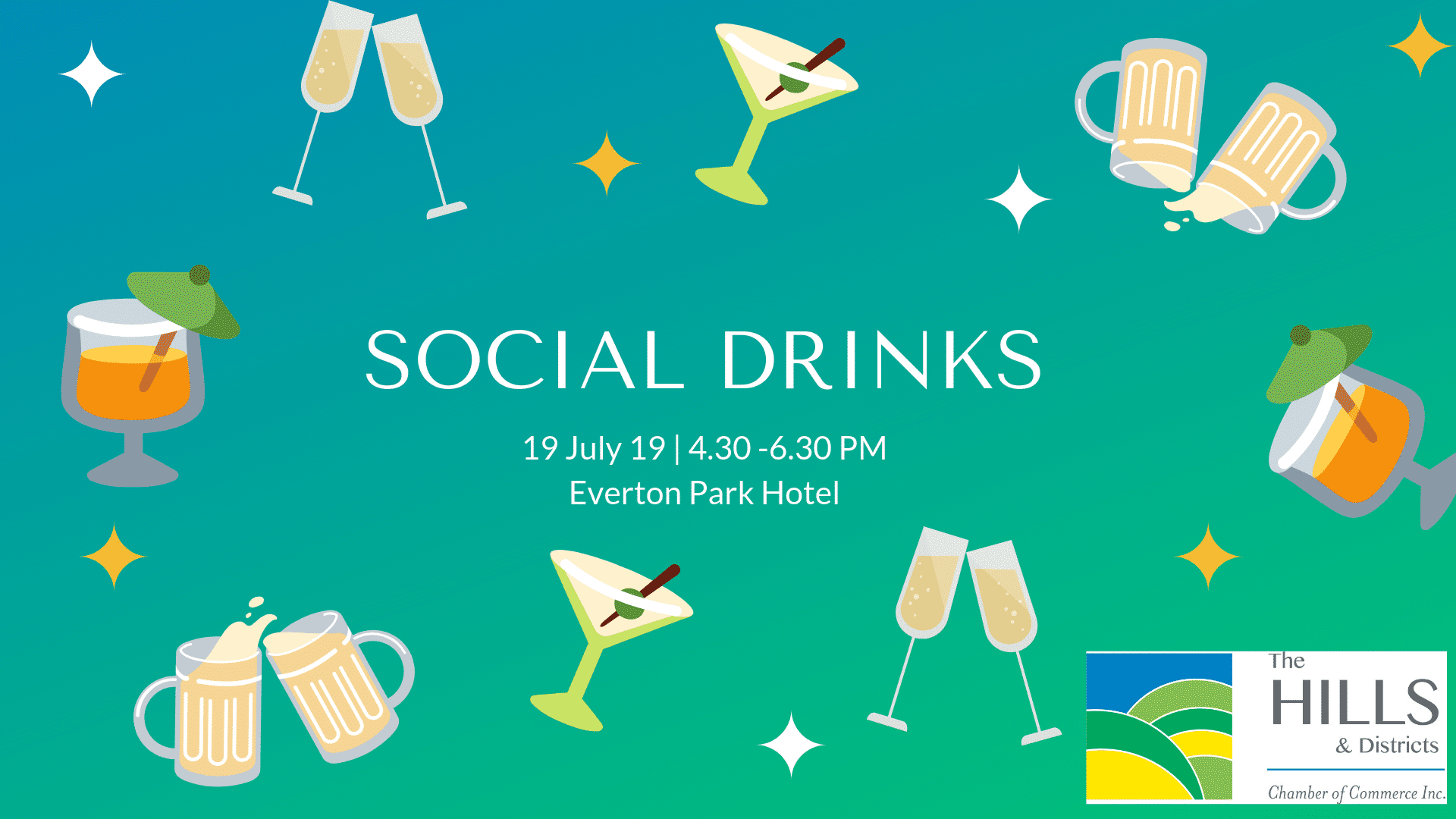 July Social Drinks