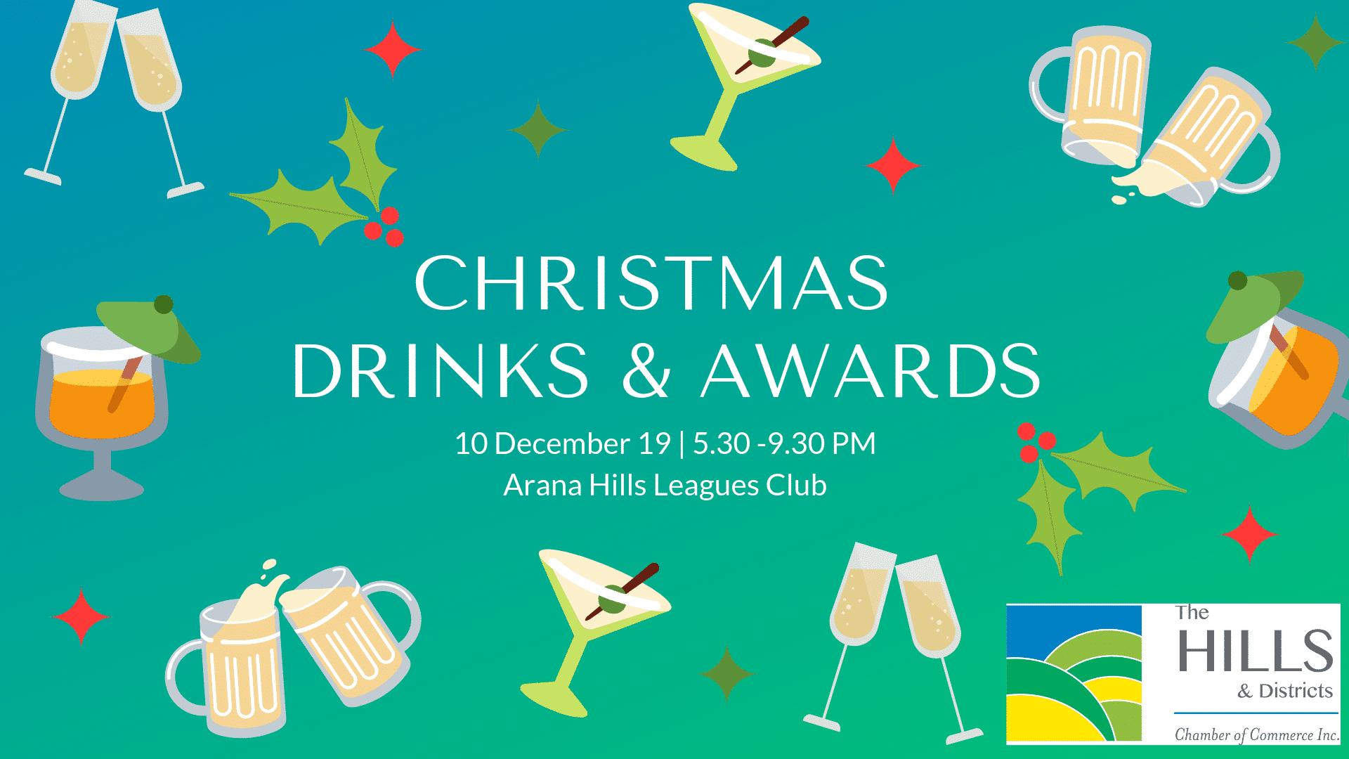 Christmas Drinks & Awards