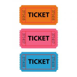 Raffle-tickets