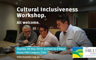 Invitation: Cultural Inclusiveness Workshop