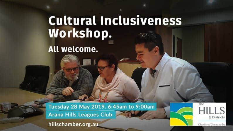 This workshop facilitated by intercultural consultant Craig Shim of Alphacrane Intercultural Specialists will focus on achieving cultural inclusiveness in our community.
