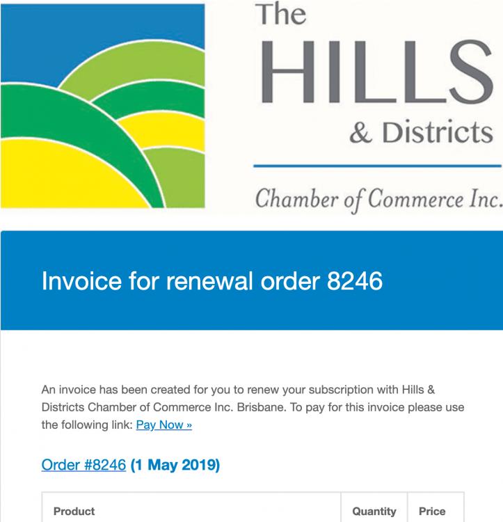 Invoice Header