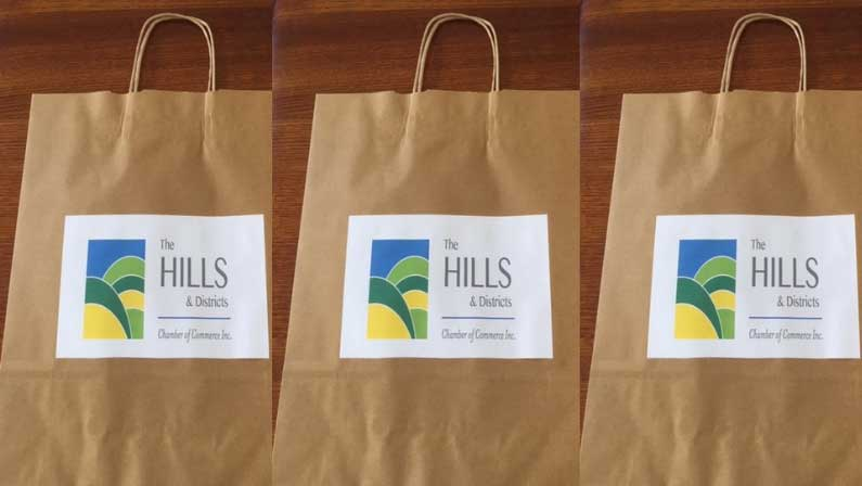 Small business expo bags.