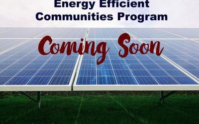 Energy Efficient Communities Program– Coming Soon