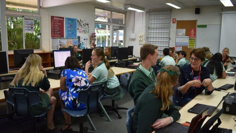 Helping Our Local Schools: Mentoring Business Students at Ferny Grove State High School