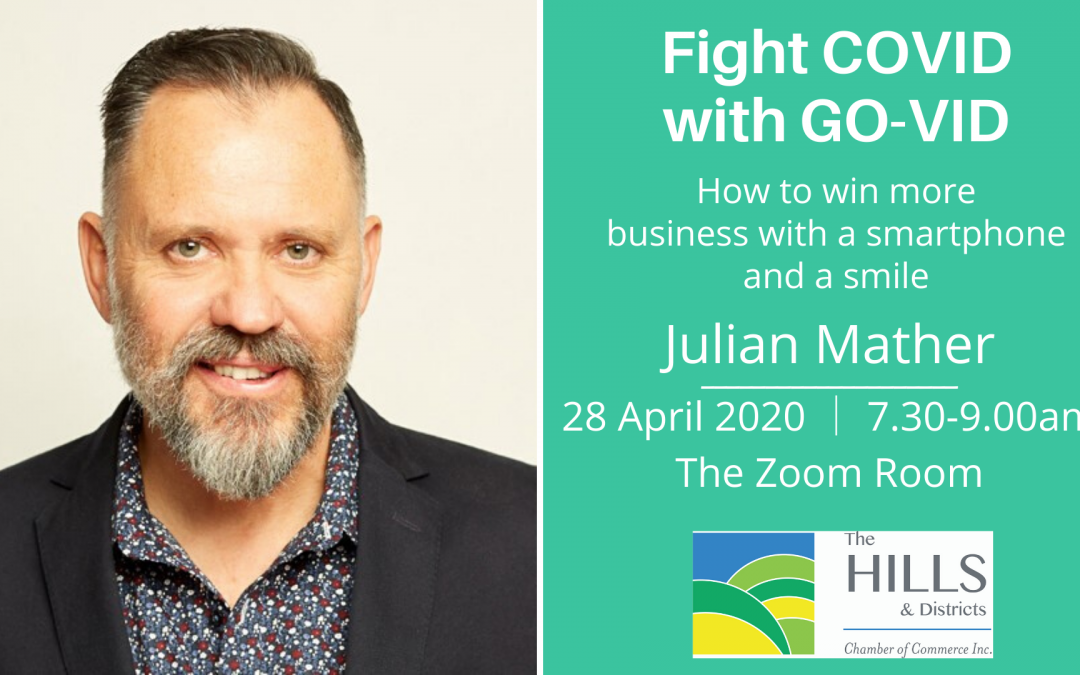 Fight COVID with GO-VID: How to win more business with a smart phone and a smile