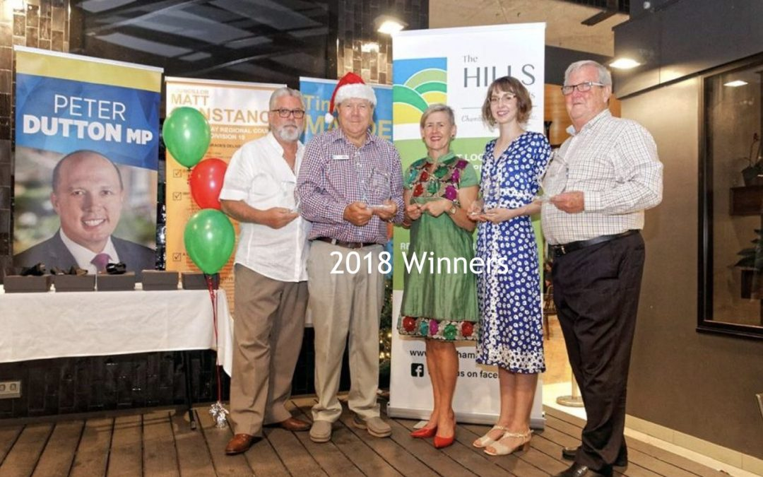The Hills & District Chamber of Commerce Inc 2019 Awards Nominations Are Now Open