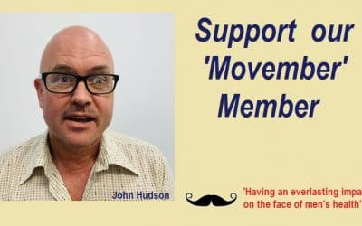 Support our Movember Member