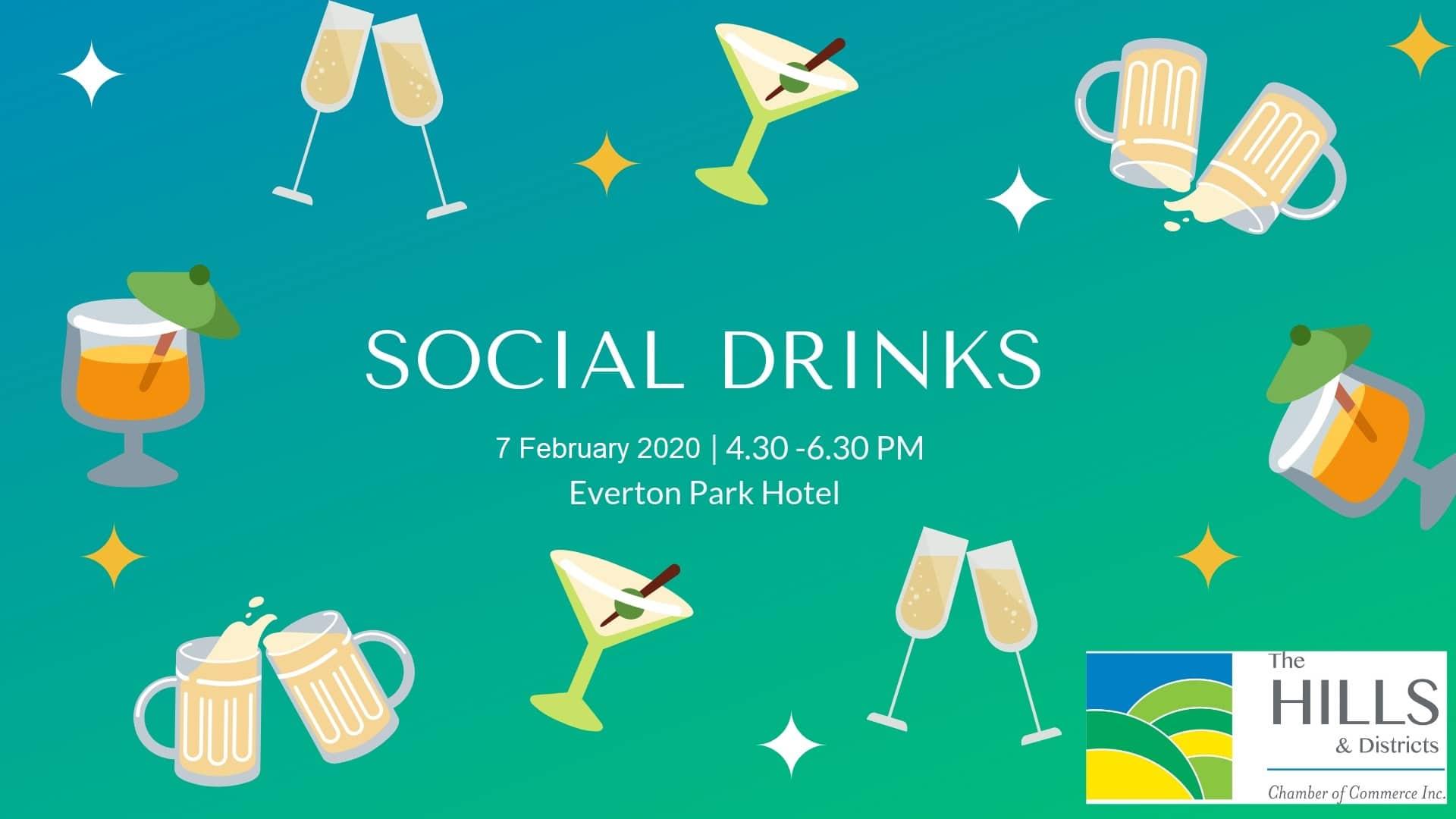 February Social Drinks