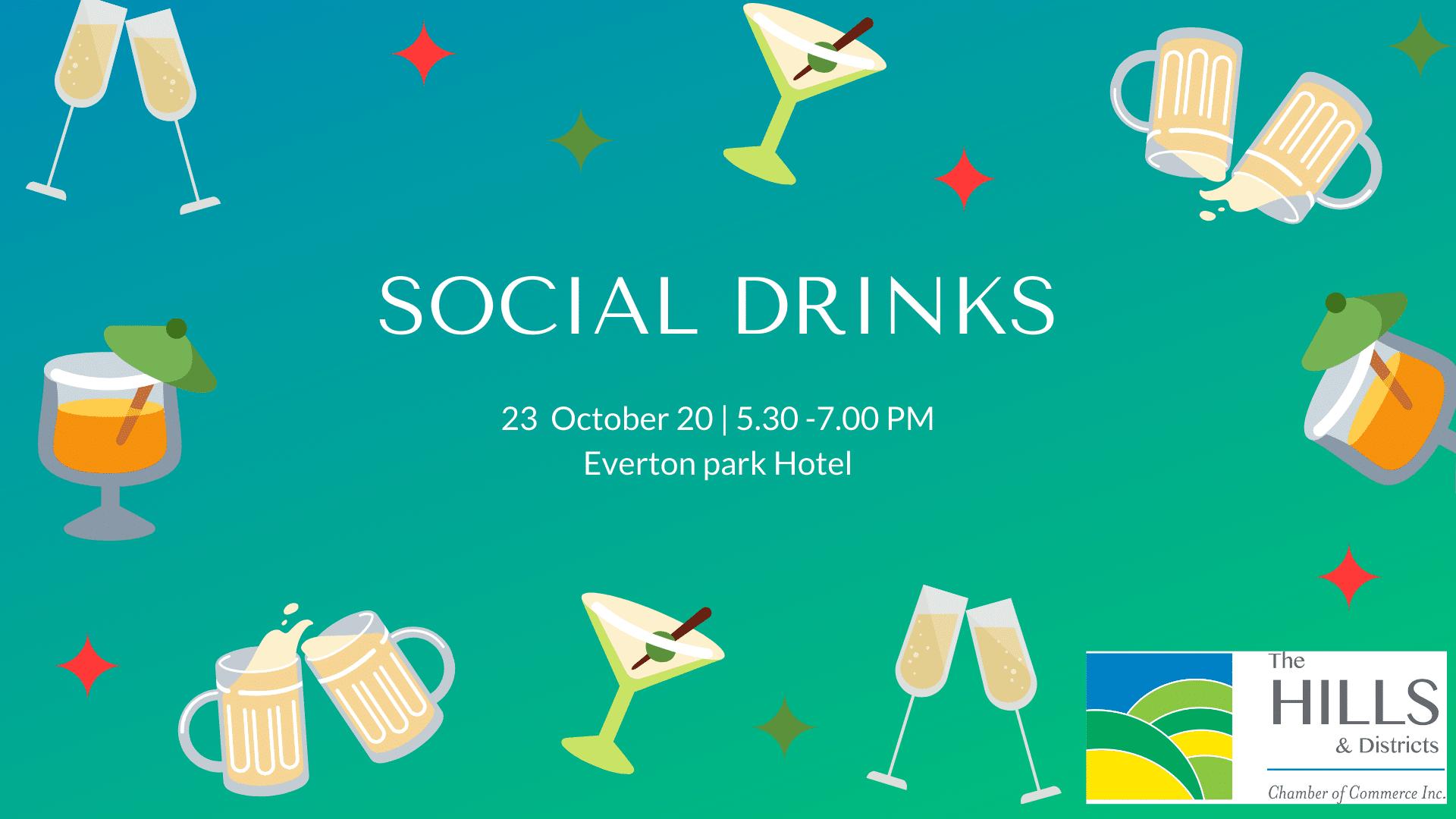 Social Drinks » October Social Drinks
