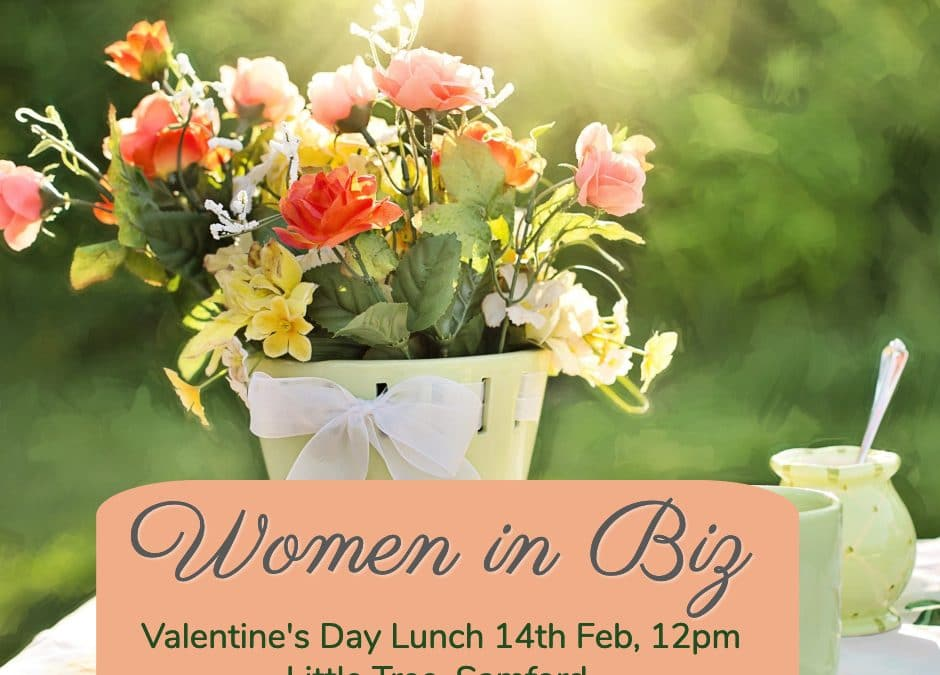 WIB Valentines' Day Lunch, Little Tree, Samford, Feb 14th, 12pm