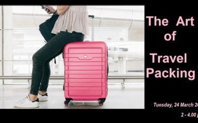 March Dressing Circle – The Art of Travel Packing – CANCELLED