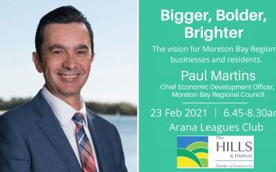 Bigger, Bolder, Brighter: The Vision for Moreton Bay Region's Business and Residents