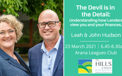 March 2021 Chamber Breakfast: John and Leah Hudson