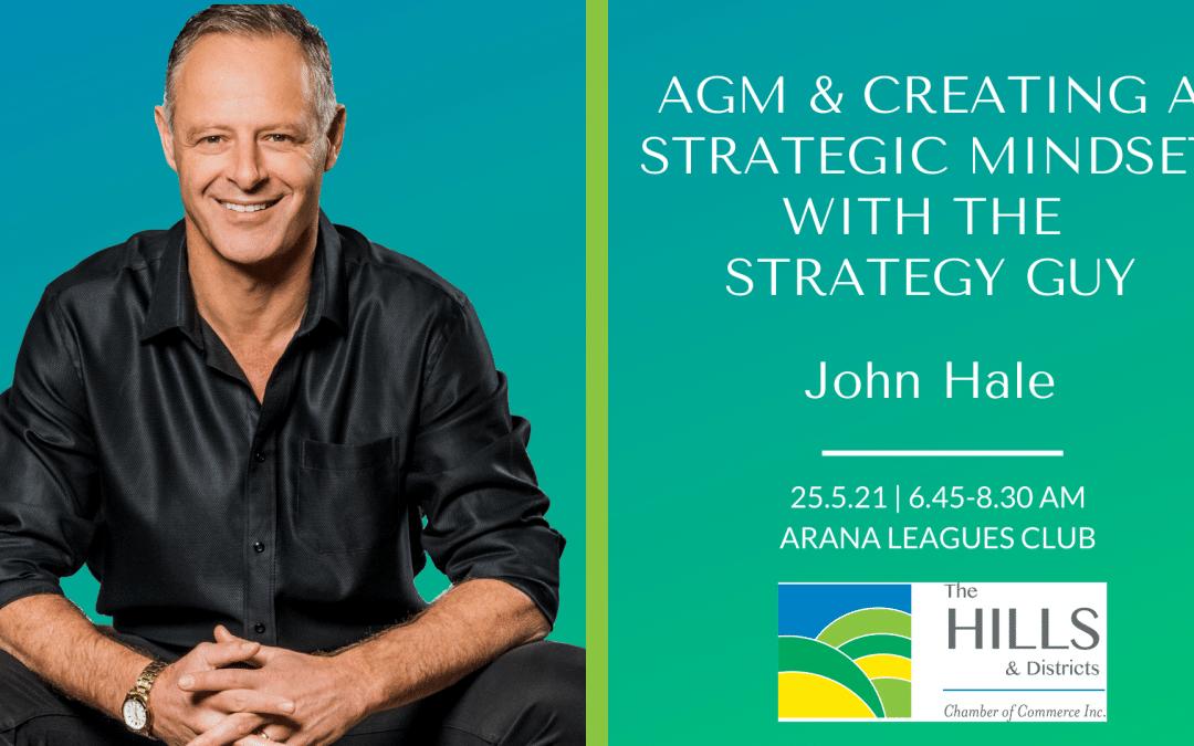 May 2021 Chamber Breakfast & AGM: John Hale