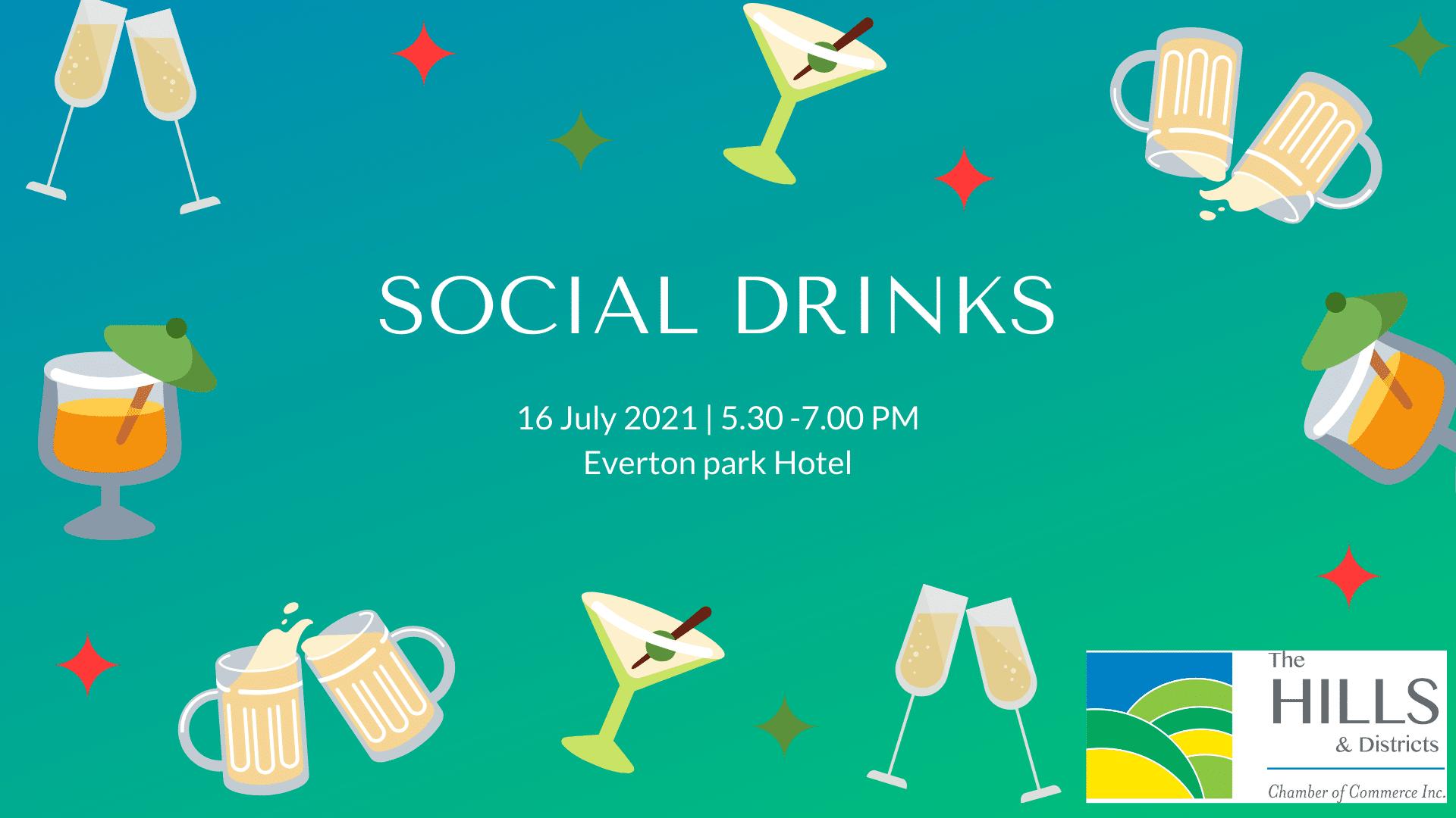 Social Drinks » July 2021 Social Drinks