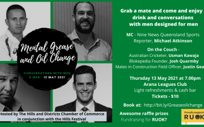 Great Success with our Mental Grease and Oil Change: Conversations with men 4 men event
