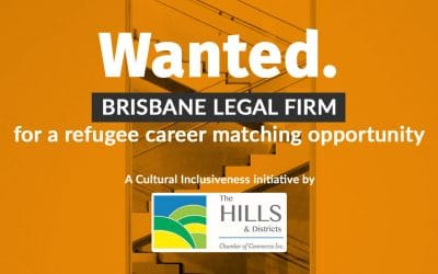 Wanted: Brisbane legal firm for a refugee career matching opportunity