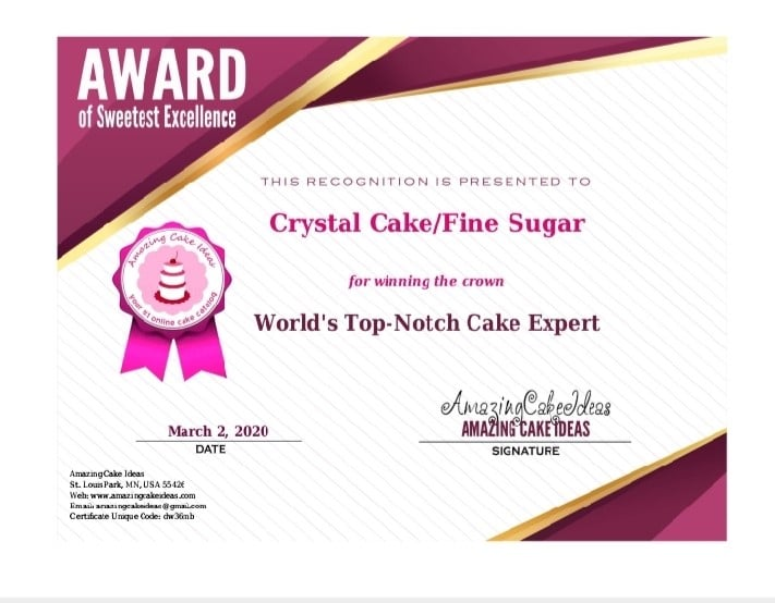 Fine Sugar – Cake Shop