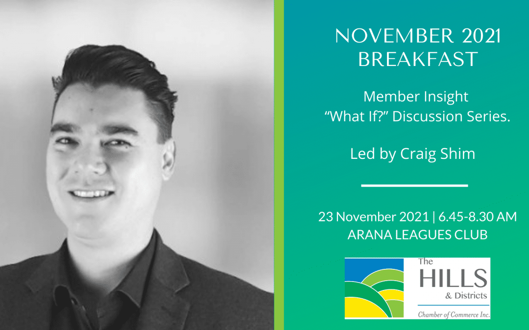 """November 2021 Breakfast – Member Insight """"What If?"""" Discussion Series."""