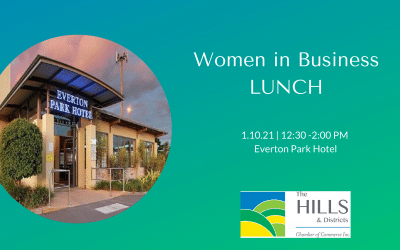 Women in Business Lunch – 1st October 12.30 – 2.30pm